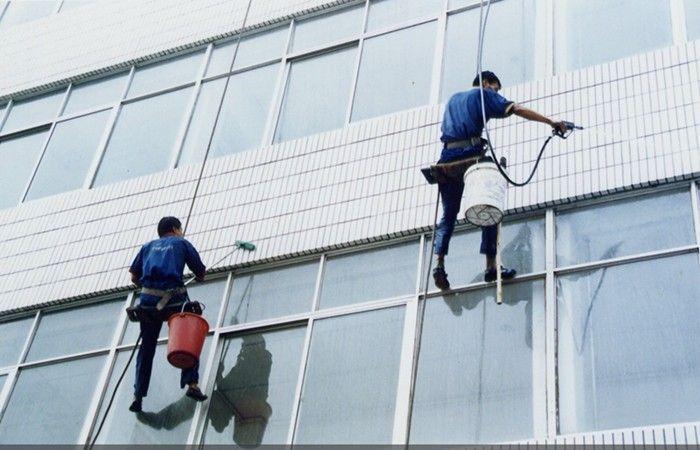 外墙清洗的操作方式和注意事项