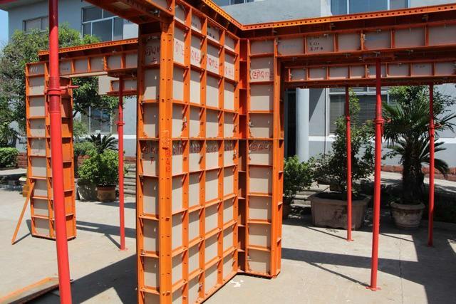 西安钢框塑料复合模板
