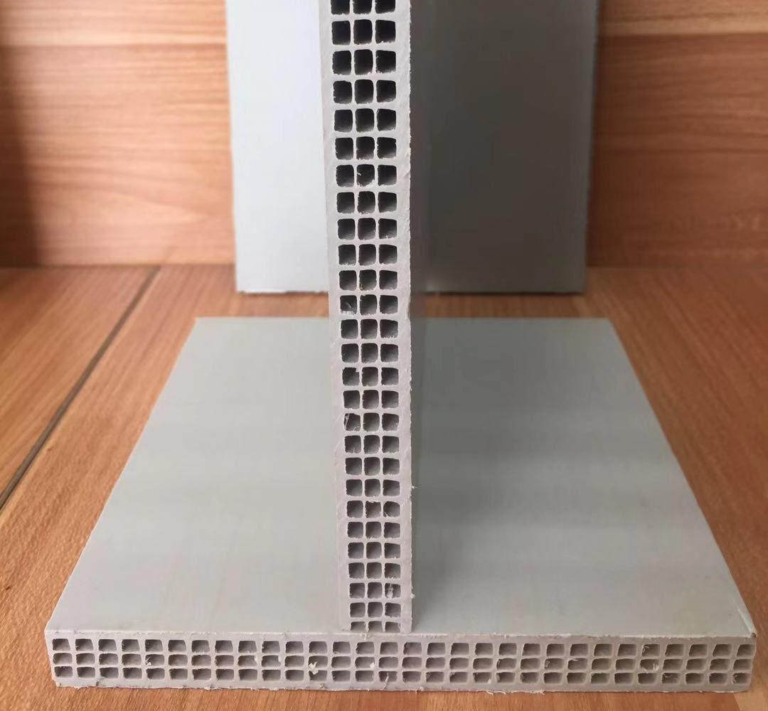 固安纯白中空塑料模板