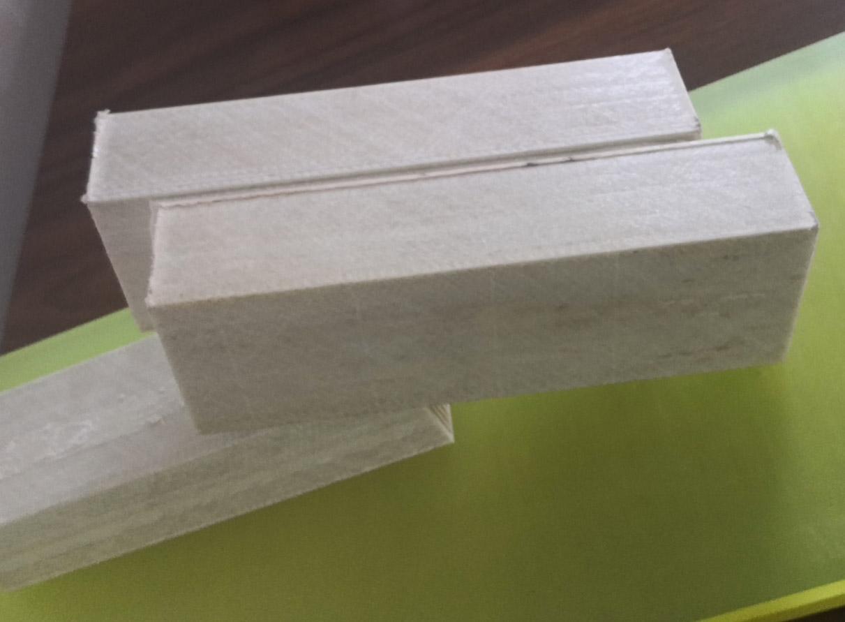 白色塑枋木次龙骨