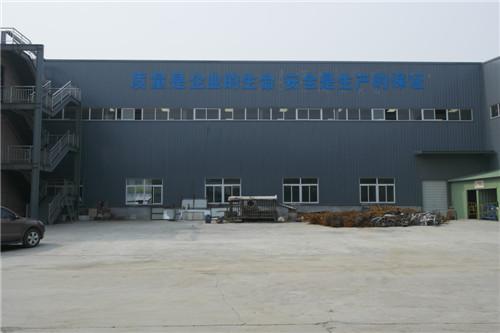 钢结构生产车间现场展示