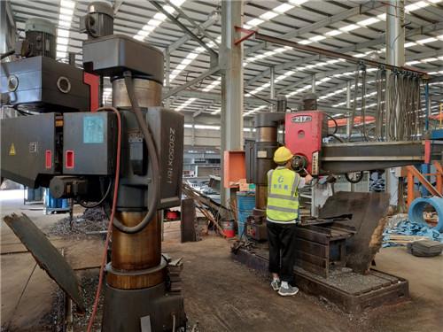 陕西钢结构公司生产设备