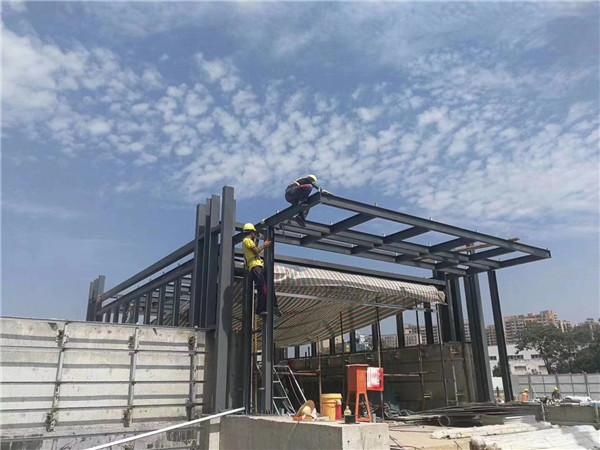 西安钢框架结构工程承建的西安地铁一号线