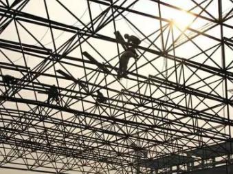 工程为什么要选择网架结构?