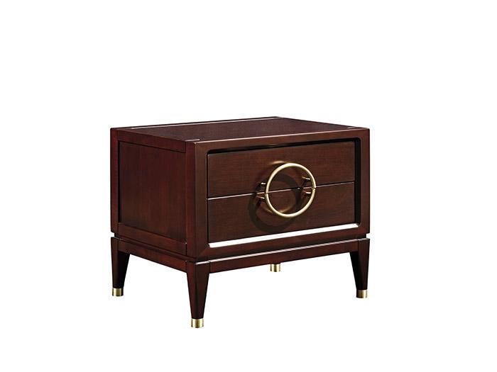 实木床头柜定制家具