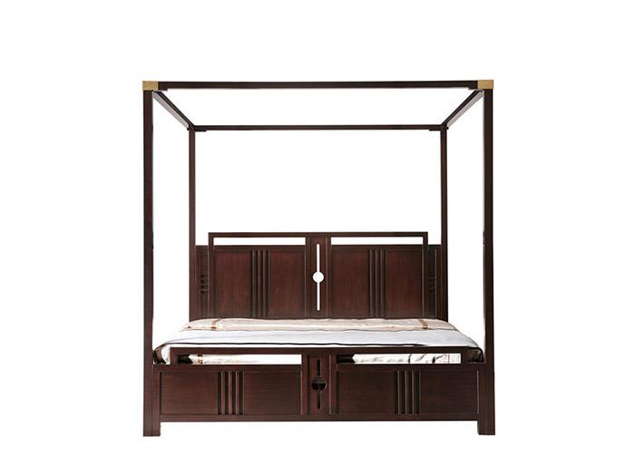 实木架子床定制