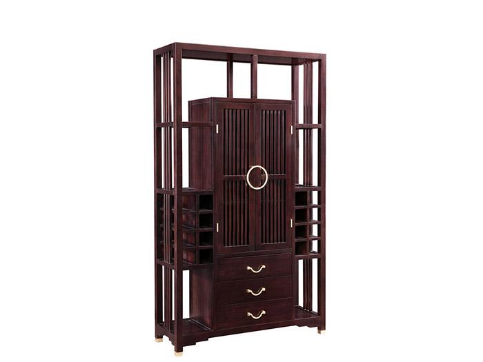 定制实木酒柜