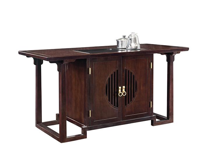 檀著实木家具茶道台