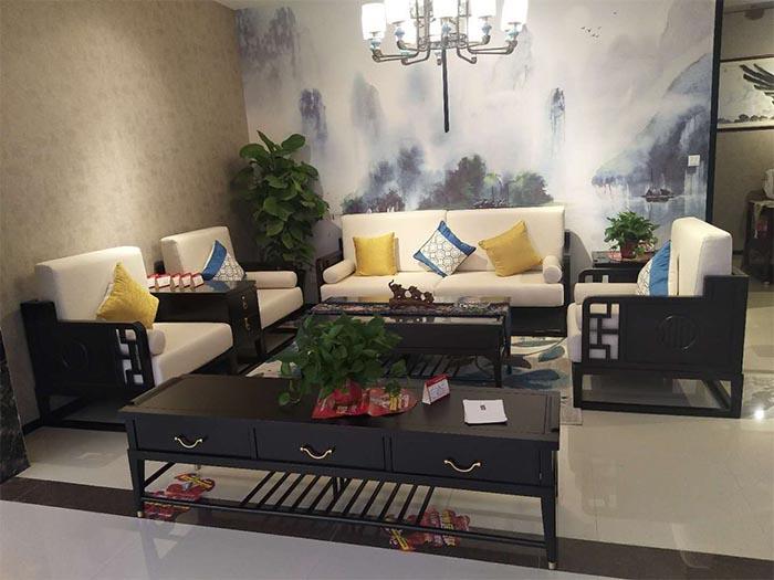 西安新中式家具样品展示