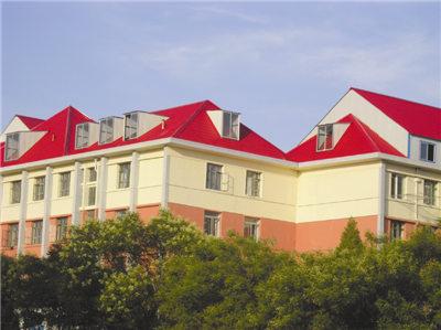 西安防腐安得瓦--包头市政府平改坡工程