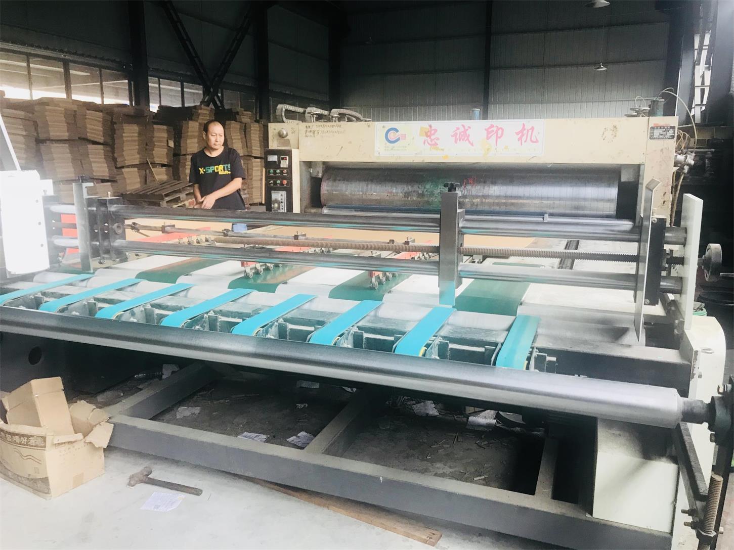 四川纸托盘生产设备展示