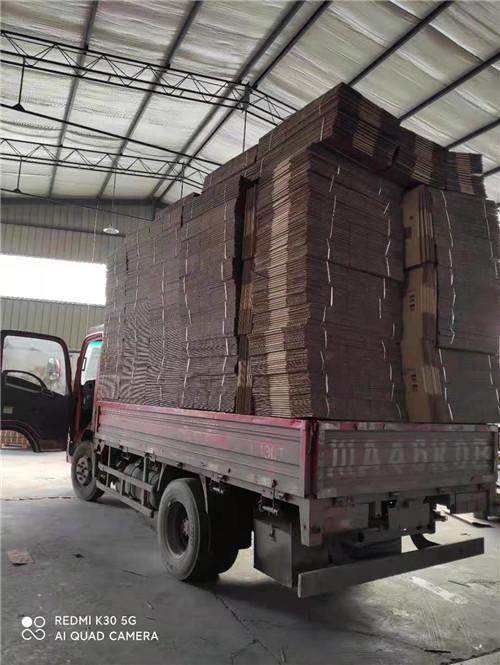 四川纸箱包装发货现场