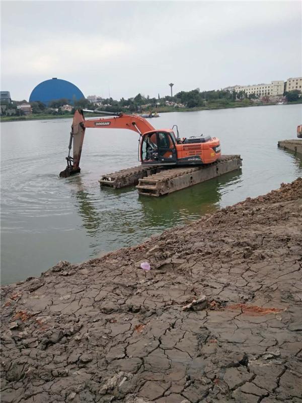 安徽水陆两用挖机出租