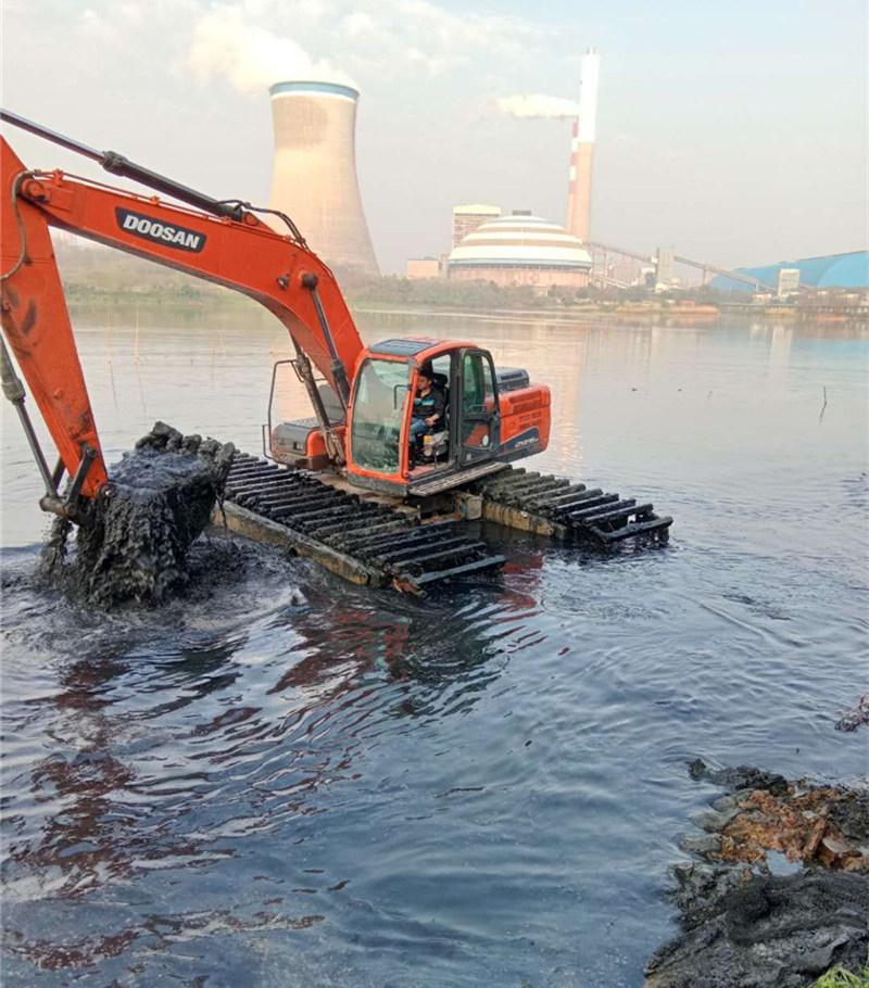 水陆挖机出租厂家