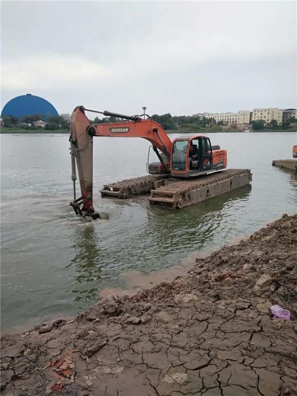 水陆两用挖机租赁价格