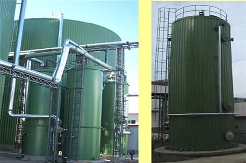 生物沼气工程-CSTR厌氧发酵沼气生产设备