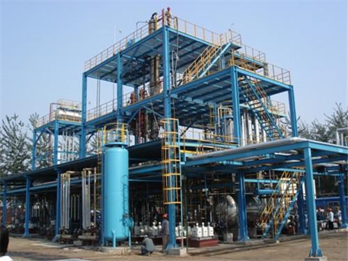 植物油制生物柴油工程
