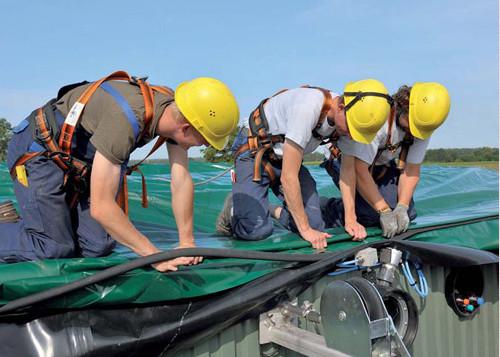河南生物沼气工程价格-CSTR厌氧发酵沼气生产设备
