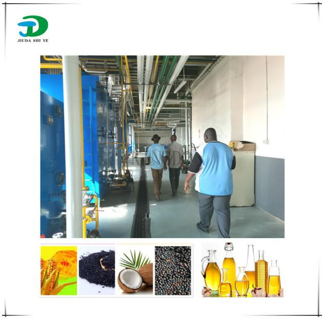 河南动植物油脂工程之芝麻油加工成套设备安装