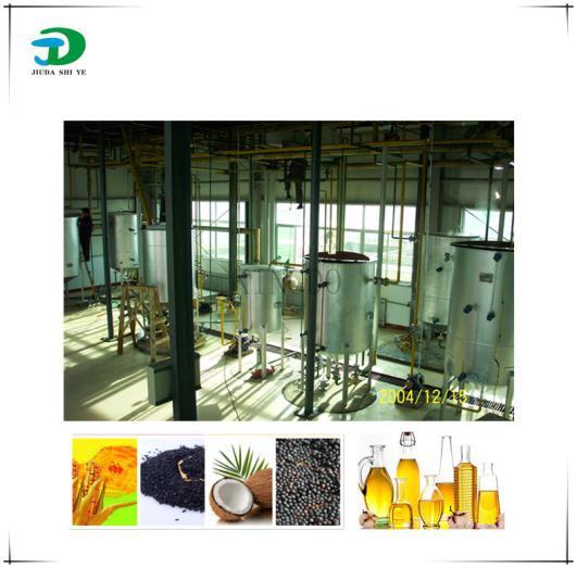 河南动植物油脂工程之亚麻仁油加工成套设备安装