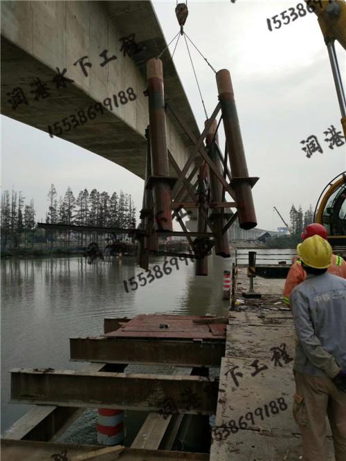 水下切割钢管桩工程