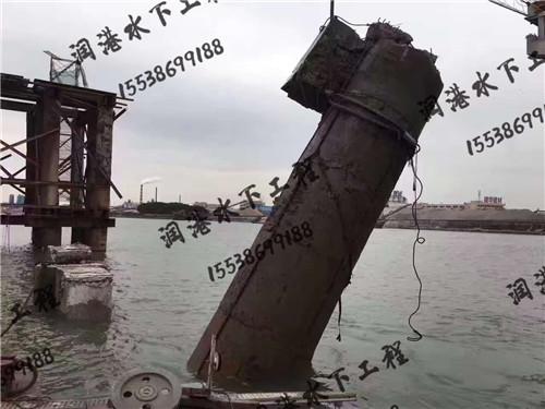 河南水下切割桥墩