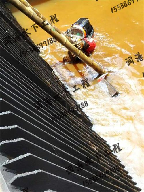 水下安装拦污栅