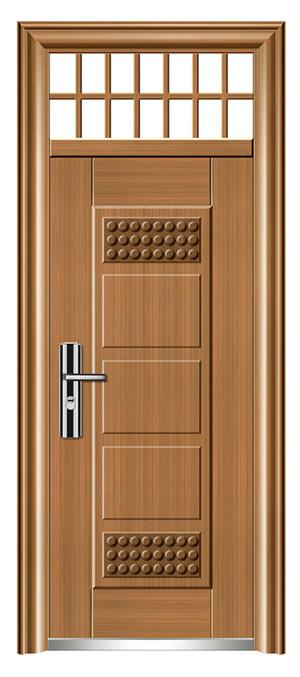 防盗门加工-HF-6003 真黄铜
