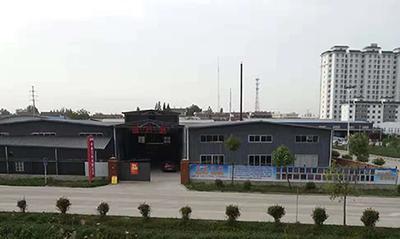 陝西高檔別墅門廠區門口