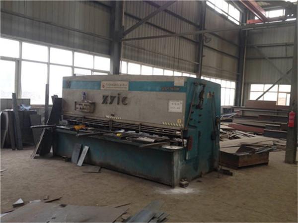 陕西钢结构工程——剪板机