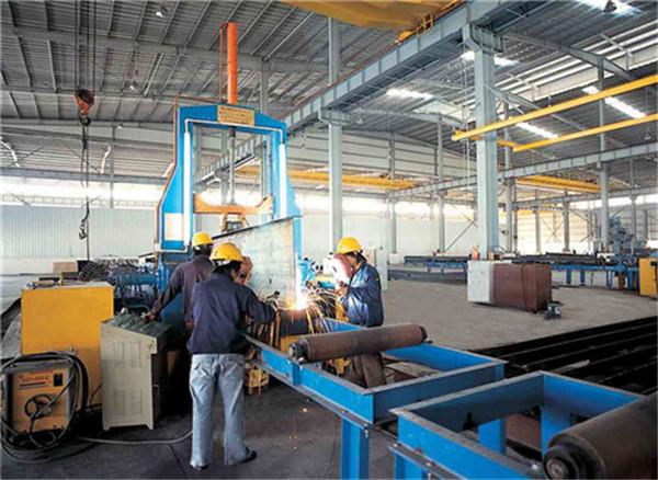 陕西钢结构工程-组立校正机