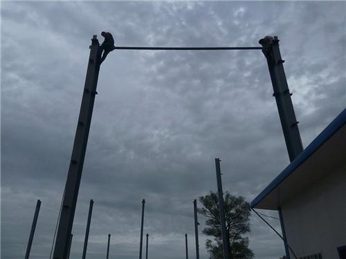 钢结构工程安装圆管