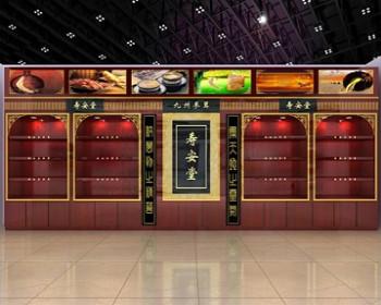 药品展柜设计