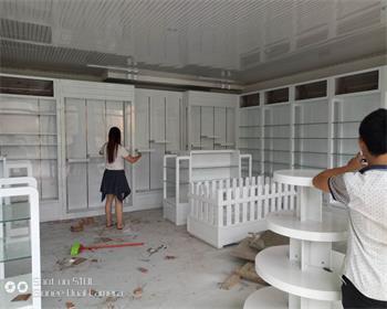 母婴展柜制作