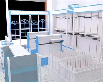 母婴展柜设计
