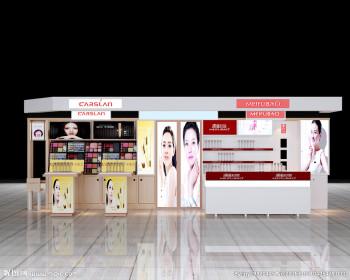 遵义化妆品展柜设计