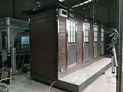 成都移動廁所廠家工廠展示
