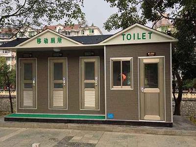 成都移动厕所厂家客户见证