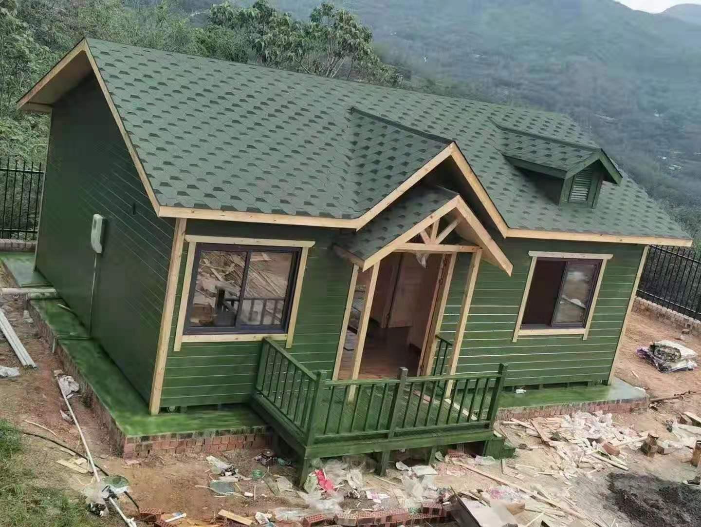 防腐木房子成功案例