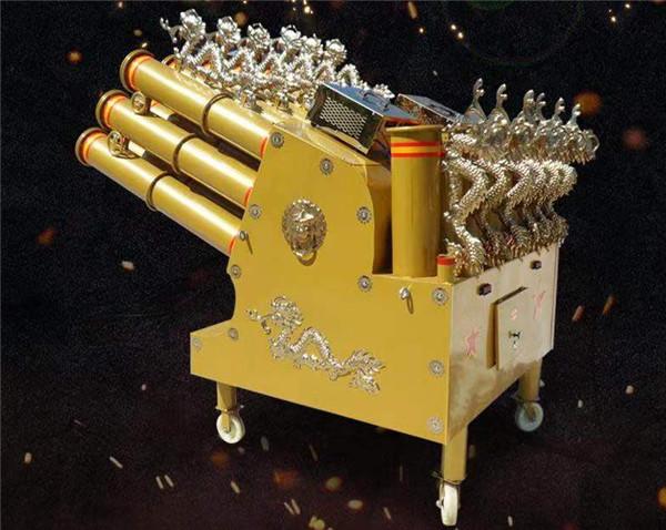 红石庆典礼炮