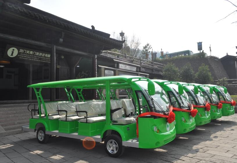 四川广元剑门关景区旅游观光车
