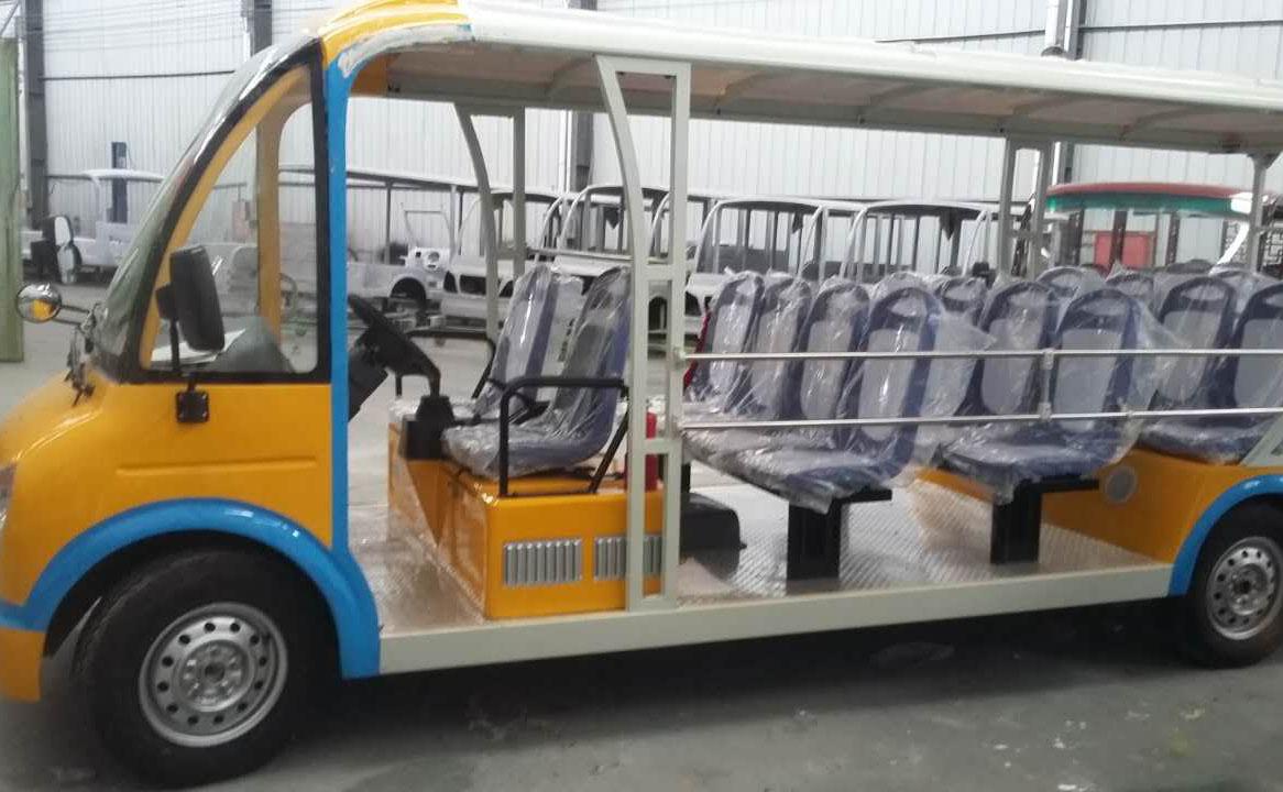 四川18座燃油观光车