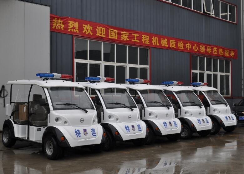 成都电动巡逻车合作客户