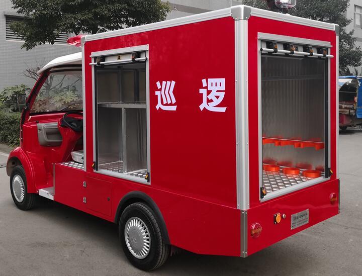四川電動消防車