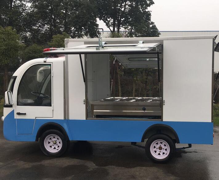 四川电动餐车
