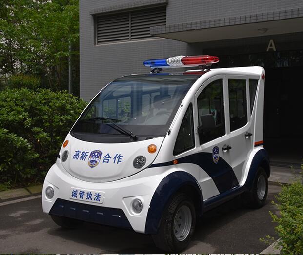 成都玻璃钢电动巡逻车-T05J