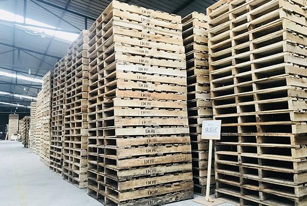 成都木栈板合作案例-陶氏化工