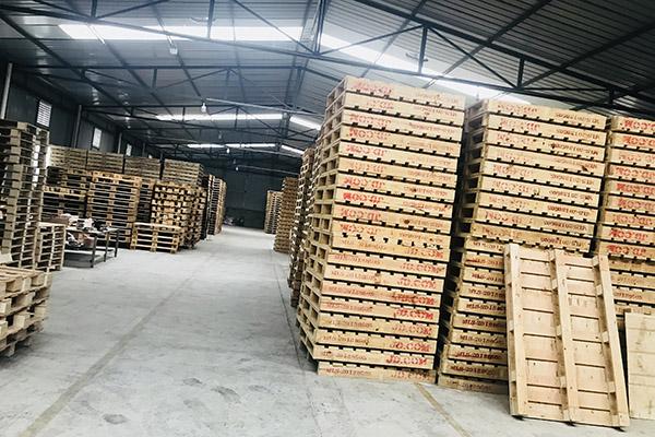 成都木栈板厂区展示