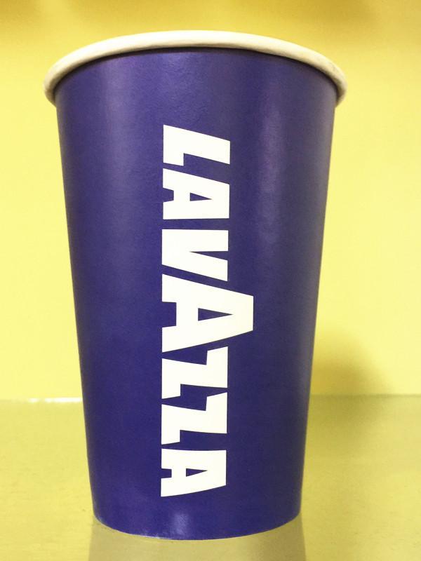 lavazza广告杯-西安纸杯订做