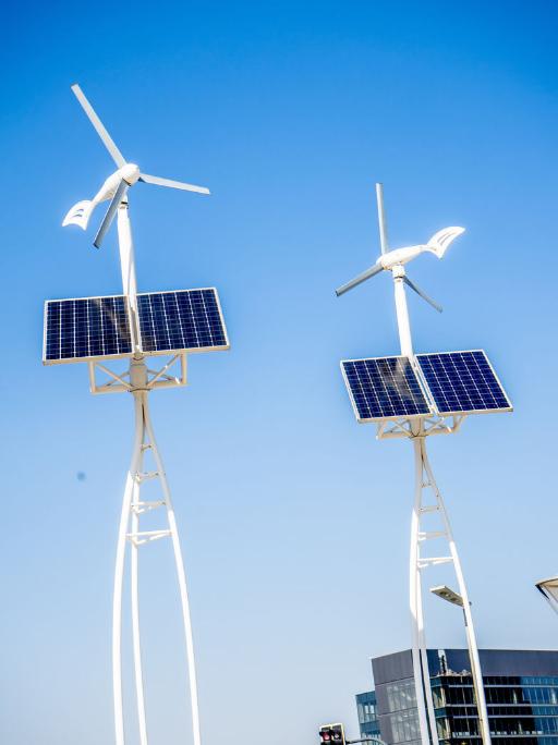 成都太阳能风能路灯